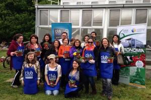 Se realizó taller de Huerto Urbano con el Club de Lectores de El Austral