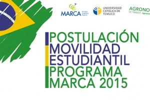 Postula al Programa de Movilidad Estudiantil MARCA 2015